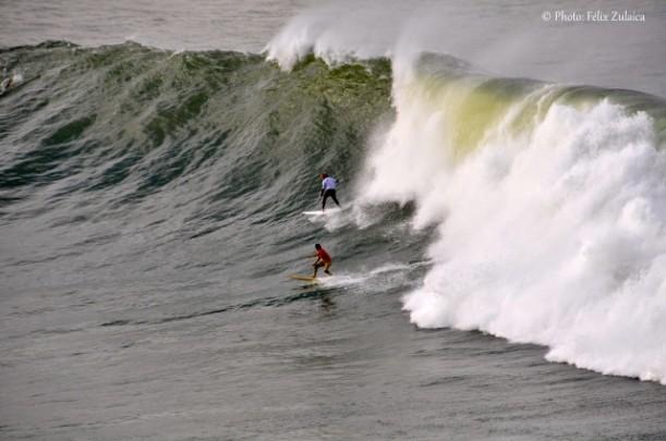 Adur Letamendia, ganador el año pasado, en Punta Galea Challenge de hace 2 años.